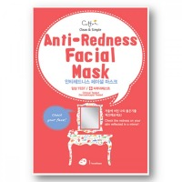 CETTUA ANTI-REDNESS FACIAL MASK 1 SZT