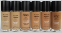 REVLON COLORSTAY COMBINATION/ OILY SKIN Z POMPKĄ 30 ML - NR 400 CARMEL