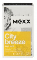 MEXX CITY BREZE FOR HER EDT 15 ML