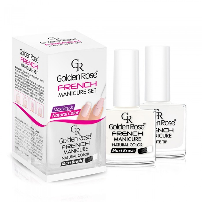 golden rose french manicure set nr 03 perfumy i kosmetyki. Black Bedroom Furniture Sets. Home Design Ideas